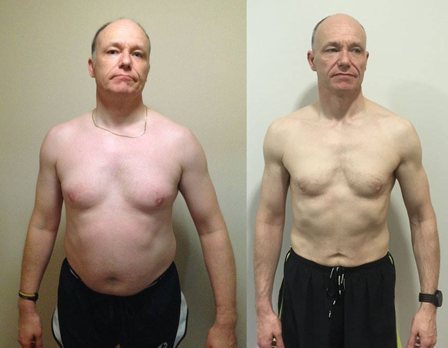 Dave -Personal Training - Before and After